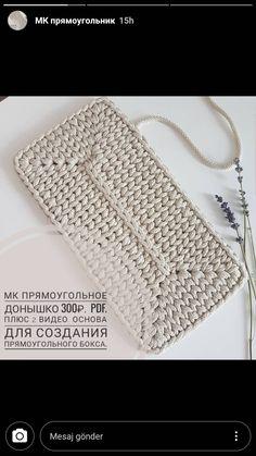 Crochet Clutch Bags, Crochet Coin Purse, Crochet Handbags, Crochet Shell Stitch, Crochet Stitches, Knitting Patterns, Crochet Patterns, Crochet Skirt Pattern, Modern Crochet