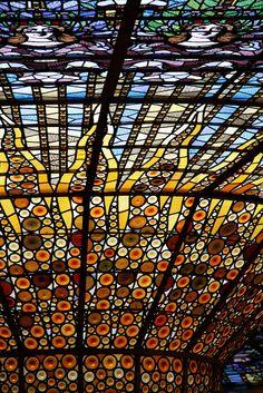 vitrall, palau de la música catalana