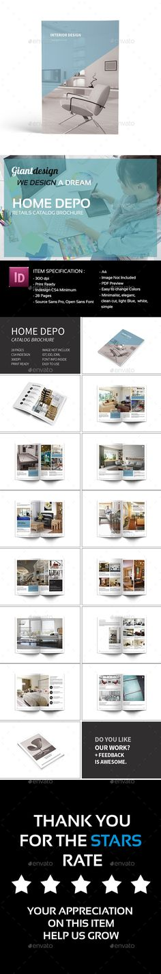 Modern Architecture Brochure Template, Heres and Modern architecture - interior design brochure template