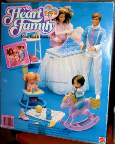 The Heart Family.  OMG!   I used to have this.  It was one of my favorites.  My older brother even played it with me :) lol
