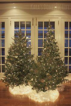 Nice idea for under the tree  Kara's Domestic Life: winter wonderland party