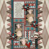 A Project by ltarbox from our Scrapbooking Gallery originally submitted 02/04/12 at 12:38 AM