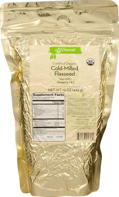 Vitacost Whole Food Certified Organic Cold-Milled Flaxseed.  The benefits of flaxseed are well documented, but most versions are either whole or ground into a meal powder for baking.  This version preserves the Omega 3 content and is perfect for mixing with cereal in yogurt.  Vitacost is fast and has good prices and ships internationally.