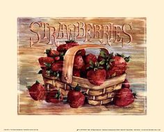 Fruit Stand Strawberries