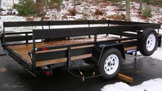 Installing New Wooden Trailer Sides