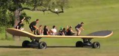 Skate board idea