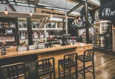 [Fotoalbum] Bierfabriek Amsterdam | Entree Magazine Restaurants, Sauce Barbecue, Liquor Cabinet, Trip Advisor, Table, Warehouse, Netherlands, Home Decor, Menu