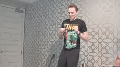 And DEM SNAKE HIPS make you want to do bad things. | 49 Reasons Tom Hiddleston Will Ruin You For Life