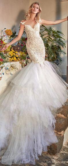 Wedding dress by Galia Lahav Couture Bridal - Fall 2018 - Florence by Night - Zenia