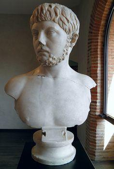 Buste de jeune homme, Villa de Chiragan, MSR, Musée Saint-Raymond | da Following Hadrian
