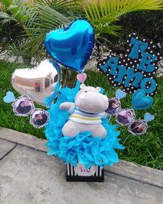 Balloon Box, 2 Year Anniversary, Gift Bouquet, Infinity Love, Ideas Para Fiestas, Balloons, Birthday, Floral, Party