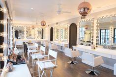 design portfolio for amber lancaster Makeup Bar, Makeup Salon, Makeup Studio, Beauty Salon Decor, Beauty Bar, Spa Treatment Room, Amber Lancaster, Salon Interior Design, Beauty Lounge