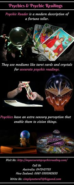 Psychics have extra sensory perception due to which they get the ability to do an accurate psychic reading.