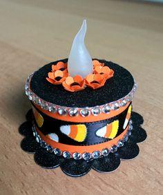 """Halloween"" Tea Light Cake"