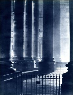 John Morrison and Harold Burkedin: Pictures from London Night, 1934.