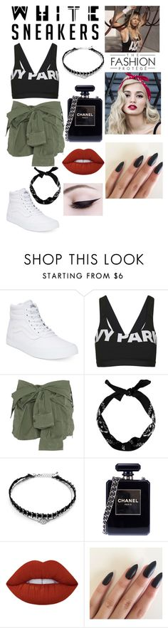 """Pia Mia Inspired Outfit"" by katiebug101s ❤ liked on Polyvore featuring Vans, Topshop, Faith Connexion, New Look, Forever 21, Chanel, Lime Crime and Ivy Park"