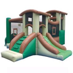 Kidwise Clubhouse Climber Interactive Bounce House - KW-CLUB-COM