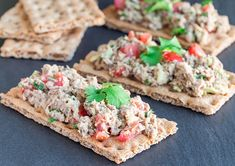 From Healthy to Athletic book Tuna Avocado, Avocado Toast, Tapas, Healthy Fats, Healthy Recipes, Post Workout Food, Rich In Protein, 4 Ingredients, Food And Drink