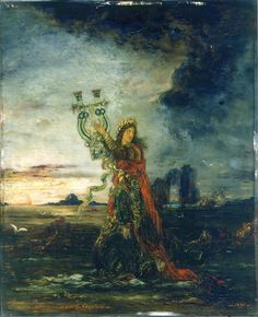 Gustave MOREAU Arion 1891