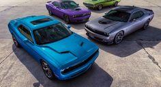 Dodge Challenger e Charger ganham pintura dos anos 1970 na linha 2016 - Carsale