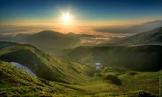 Ukrainian Carpathians Mountains