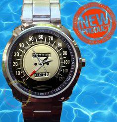 Vintage Harley Panhead Knucklehead WL Servicar  Speedometer Bulls Watches