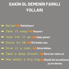 German English, English Tips, English Lessons, Biology Lessons, Language Lessons, English Vocabulary Words, Learn English Words, Turkish Lessons, Learn Turkish Language