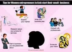 #Tips for #Women #Entrepreneur to Kick Start Your #SmallBusinesses #GrowOnlinewithLSNetX