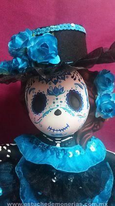 Catrina, figura de ceràmica, sugar skull
