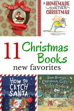 Add a few new Christmas books for kids to this year's reading list.  Great books to read as a family for the holidays.