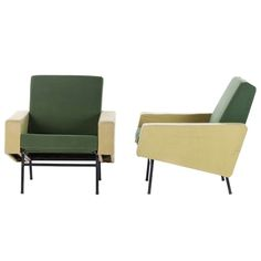 Pierre Guariche Lounge Chairs | From a unique collection of antique and modern lounge chairs at http://www.1stdibs.com/furniture/seating/lounge-chairs/
