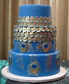 Perfect Peacock Unusual Wedding Cakes Collection