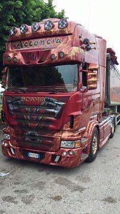 Scania  acconcia