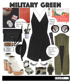 """Go green + Giveaway on my blog!"" by julietacelina ❤ liked on Polyvore featuring Sloane Stationery, Prada, HAY, Topshop, Rebecca Minkoff, Givenchy, Briston, Yves Saint Laurent, Frontgate and Rock 'N Rose"