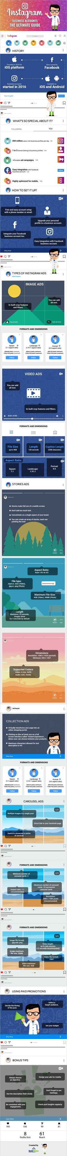 Everything You Need to Know About Instagram Business Accounts [Infographic] | Social Media Today Instagram Marketing Tips, Instagram Tips, Instagram Story, Instagram Images, Business Writing, Business Pages, Social Media Tips, Social Media Marketing, Marketing Ideas