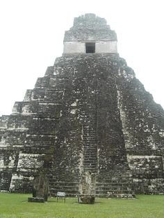 Tikal, selva del Peten, Guatemala