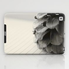 Pinecone and Paper iPad Case by Melissa Lund