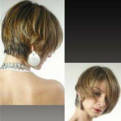 Hair cut, esse look criei para um catálogo de beleza!!
