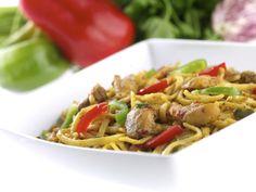 Tallarines con pollo al curry » Ta-Tung