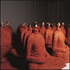 Michael Joo, Headless (Mtg. Portrait), 2000