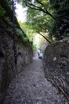 """Bergamo is a relaxing city in North of Italy. The city is a hill-top city an ddivided in two parts. Upper Bergamo is the historical city and lower Bergamo is the modern city. Good food """"Polenta"""" out there and breathtaking views of lower Bergamo."""