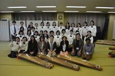 These Spring 2012 study abroad students met with Kansai High School Koto Club in Japan (shown here)- and also with the Kansai Junior High School choir. The SUA students were studying in Kansai and Osaka. www.soka.edu/studyabroad — at Kansai Soka Unior High School, Japan. www.soka.com