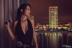 Lara Croft Tokyo Dress - Lara Croft Tokyo Dress from TombRaider video game.  Cosplayer Ivy Cosplay  MC illusion Photography