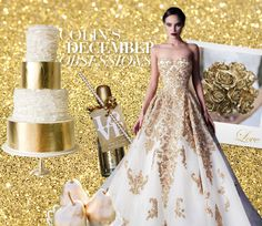 This month on Colin Cowie Weddings all that glitters really is gold. Check out on ColinCowieWeddings.com.
