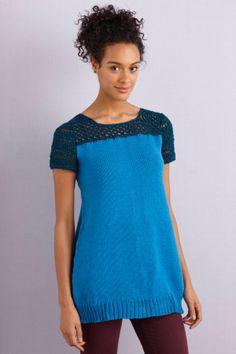 Knit and Crochet Tunic - free pattern