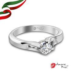 Anillo de oro Blanco 14kt SKU: WG1431213 Diamante Round 0.23 quilates. Color-H, Claridad-SI1,  Laboratorio-GIA-DGC SKU Diamante: 94586 Precio: $11,730.68 pesos M.N *Consulte términos y condiciones.