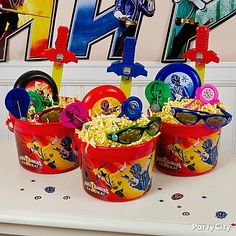 power rangers samurai party | make the excitement last beyond the party with these power