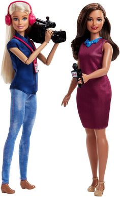 Barbie® TV News Team Doll #Barbie