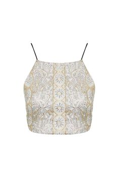 Photo 1 of Gold Beaded Embellished Bralet