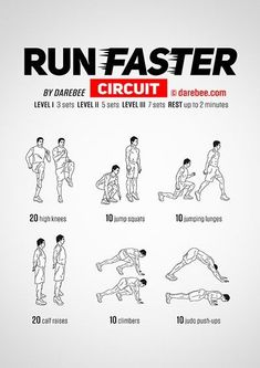 Fitness Program - Physical Fitness: More Than Just Crunches And Protein Shakes - Exercise Bike Workout Fitness Workouts, Running Workouts, At Home Workouts, Fitness Tips, Sprinting Workouts, Easy Daily Workouts, Running Tips, Agility Workouts, Fitness Motivation